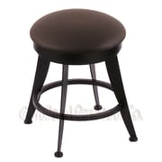 Holland Bar Stool Laser Swivel Vanity Stool; Allante Espresso