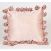 Glenna Jean Madison with Pom Poms Throw Pillow