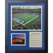 Legends Never Die Indianapolis Colts RCA Dome Stadium Framed Memorabili