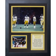 Legends Never Die Pittsburgh Steelers Steel Curtain Framed Memorabili