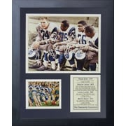 Legends Never Die St. Louis Rams Fearsome Foursome Framed Memorabili