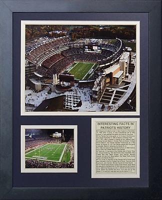 Legends Never Die New England Patriots Gillette Stadium Framed Memorabili WYF078277247127