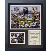 Legends Never Die Oakland Raiders 70's Offense Greats Framed Memorabili