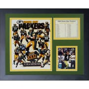 Legends Never Die Green Bay Packers 1996 Champs Framed Memorabilia