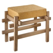 CBK 24'' Block Stool with Upholstered Seat