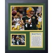 Legends Never Die Green Bay Packers Brett Favre Collage Framed Memorabilia