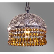 Classic Lighting Prague Color 1 Light Bowl Pendant