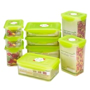 Kinetic Kinetic Fresh 18-Piece Plastic Food Storage Container Set