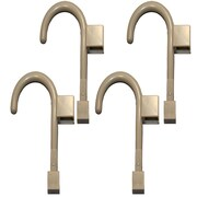 Global Door Controls Universal Wall Hook (Set of 4); Warm Gray