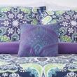 Style 212 Boho Kaleidoscope Polyester Throw Pillow