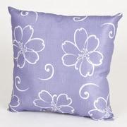 Sweet Potato by Glenna Jean LuLu Flower Cotton Throw Pillow