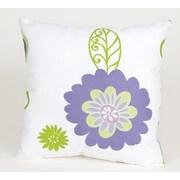Sweet Potato by Glenna Jean LuLu Flowers Cotton Throw Pillow