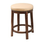 Abbyson Living Shawnee 26'' Swivel Bar Stool; Camel