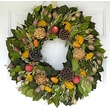 Dried Flowers and Wreaths LLC Elegant Orchard Wreath