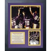 Legends Never Die Minnesota Vikings Purple People Eaters II Framed Memorabili