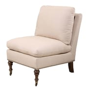 Abbyson Living Siena Slipper Chair; Beige