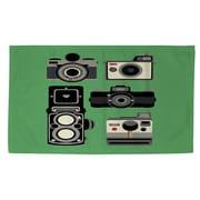 Thumbprintz Cameras Green Area Rug; 4' x 6'