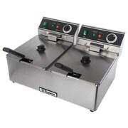 Supera® CDF-12-1 6-liter Double-well Electric Deep Fryer