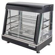 """Supera® DSP26-1 26"""" 2 Glass Door Countertop Heated Display Case"""