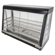 """Supera® 48"""" 2 Glass Door Countertop Heated Display Case"""