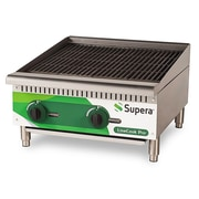Supera® LC24CB-1 LineCook Pro Gas Charbroiler, 70000 BTU