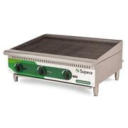 Supera® LC36CB-1 LineCook Pro Gas Charbroiler, 105000 BTU