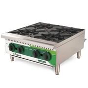 "Supera® LC4BCT-1 LineCook Pro 24"" 4-burner Countertop Gas Hot Plate, 100000 BTU"