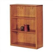 High Point Furniture Forte 48'' Standard Bookcase; Honey Cherry