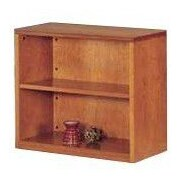 High Point Furniture Forte 30'' Standard Bookcase; Honey Cherry