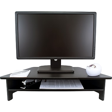 Victor Technology DC050 High Rise Monitor Stand, Black