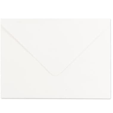JAM Paper® A7 Invitation Envelopes, 5.25 x 7.25 Strathmore Bright White Laid, 1000/carton (1921397C)