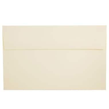 JAM Paper® A8 Invitation Envelopes, 5.5 x 8.125, Strathmore Natural White Laid, 250/Pack (75134H)