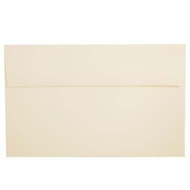 JAM Paper® A10 Invitation Envelopes, 6 x 9.5, Strathmore Ivory Wove, 1000/carton (900849930B)
