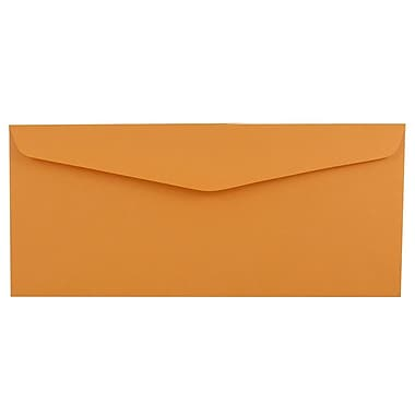 JAM Paper® #12 Business Commercial Envelopes, 4.75 x 11, Brown Kraft, 1000/carton (80762B)
