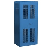 Salsbury Industries Military 2 Door Storage Cabinet; Blue