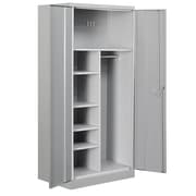 Salsbury Industries 2 Door Storage Cabinet; Gray