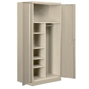 Salsbury Industries 2 Door Storage Cabinet; Tan