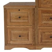 Eagle Furniture Manufacturing Oak Ridge 2-Drawer  File; Unfinished