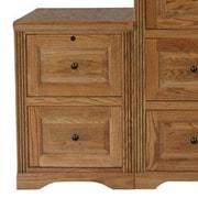 Eagle Furniture Manufacturing Oak Ridge 2-Drawer  File; Concord Cherry