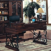 Parker House Barcelona Writing Desk w/ Keyboard Tray