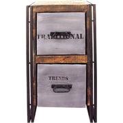 MOTI Furniture 2 Drawer Filing Cabinet