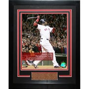 Steiner Sports David Ortiz #34 Red Sox 'Feel The Game' Framed Photograph
