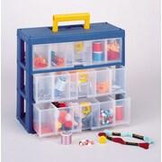 Quantum Clear Drawer Storage Unit; 5 5/8'' L x 12 1/8'' W x 11'' H