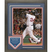Steiner Sports David Ortiz 2004 ALDS Walk Off Legendary Moments Framed Collage
