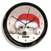 California Clocks 9'' Dog by Keith Kimberely Clock