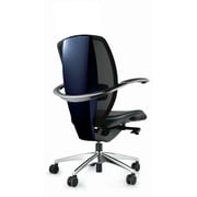 Borgo Xten Mid-Back Mesh Conference Chair; Blue