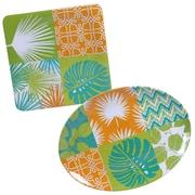 Certified International Paradise 2 Piece Platter Set