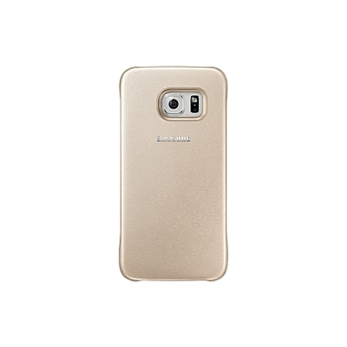 Samsung Protective Cover for GS6 (Clear), Gold
