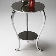 Butler Modern Expressions End Table; Nickel