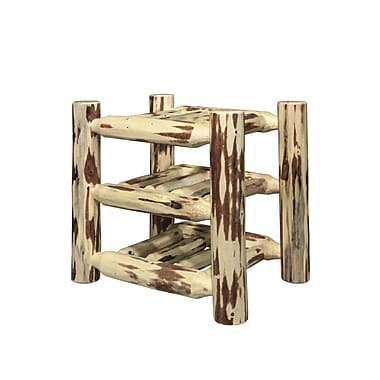 Montana Woodworks Montana 9 Bottle Tabletop Wine Rack; Lacquered